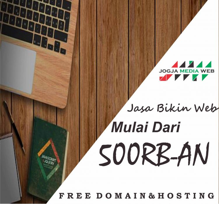 Jasa Pembuatan Website Gratis Domain, SEO, & Full Suport 24 jam