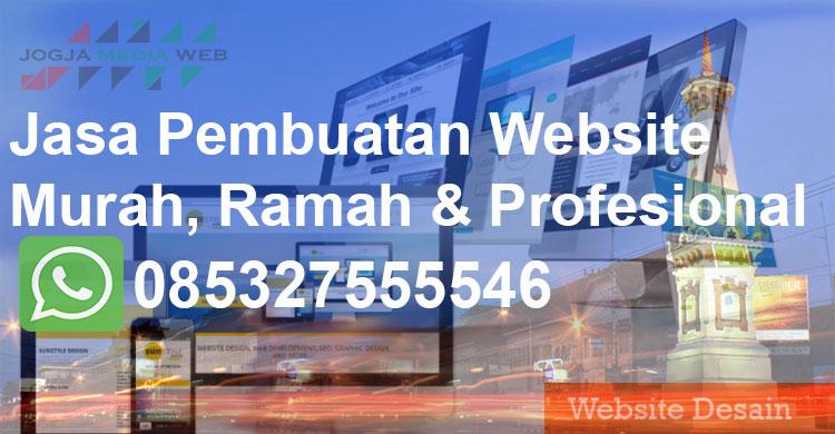 Jasa Web Murah Jogja Terpercaya Legalitas Jelas & Profesional