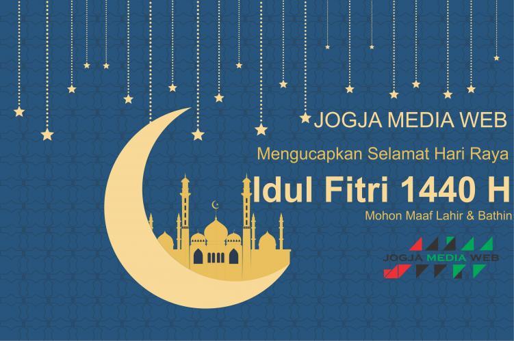 Jogja Media Web mengucapkan Selamat Hari Raya Idul Fitri 1440 H