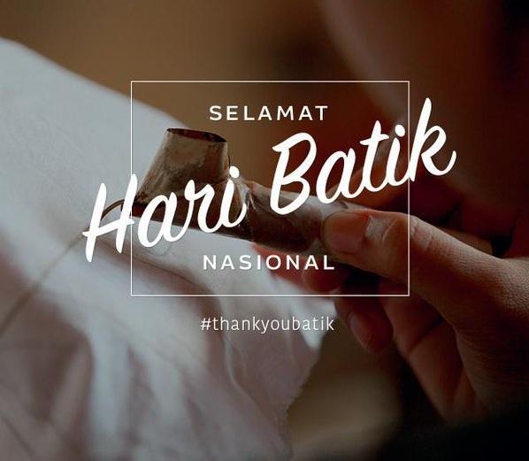 Hari Batik Nasional 2019 | Ini dia kisah diperingatinya hari Batik Nasional