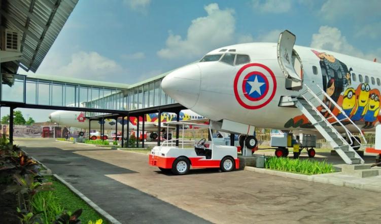 Resto Pesawat di Kalasan Jogja : Jogja Airport Resto