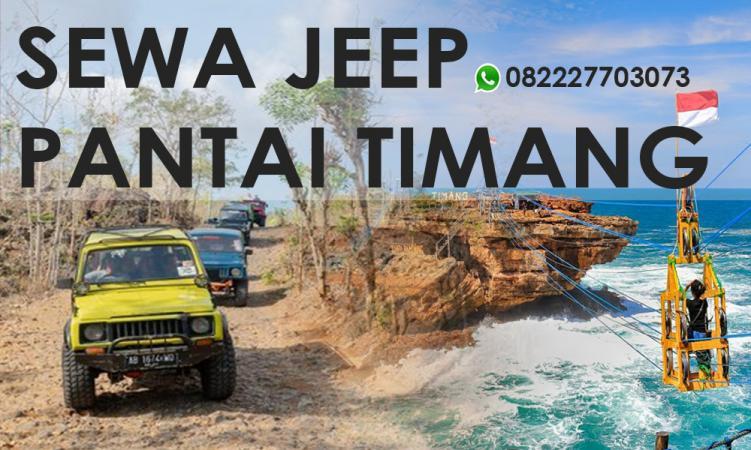 Sewa Jeep Pantai Timang, Info Harga, & Pemesanan