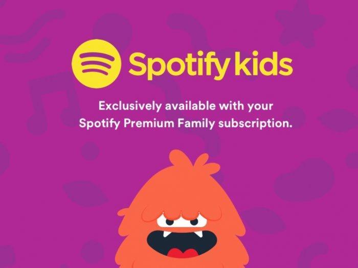Spotify memperkenalkan Spotify Kids dengan Kontrol Orang Tua